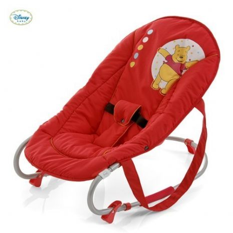 New Hauck Disney Winnie the pooh Baby bouncer rocker bungee in Red
